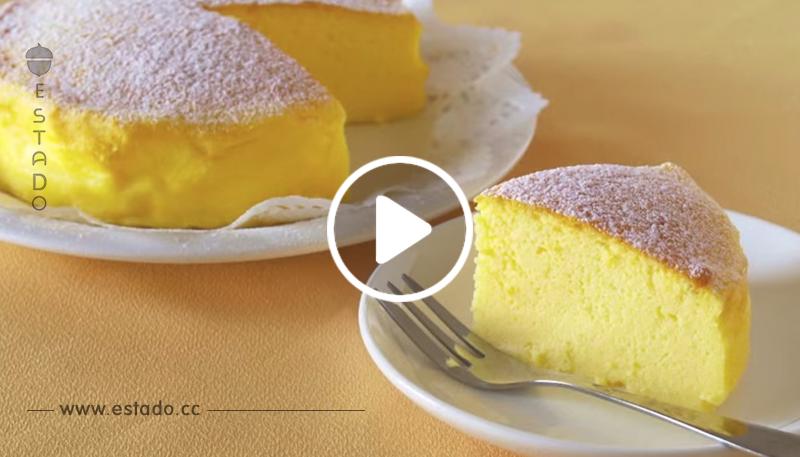 ¡La tarta más viral de internet! Deliciosa receta de pastel de queso japonés con solo 3 ingredientes