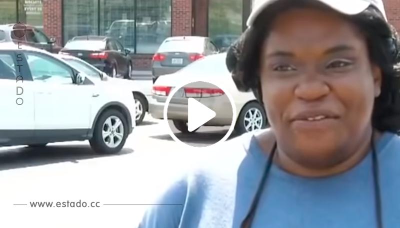 Mujer camina 6 millas al trabajo hasta que policía la detiene y le hace una oferta que ella no puede rechazar