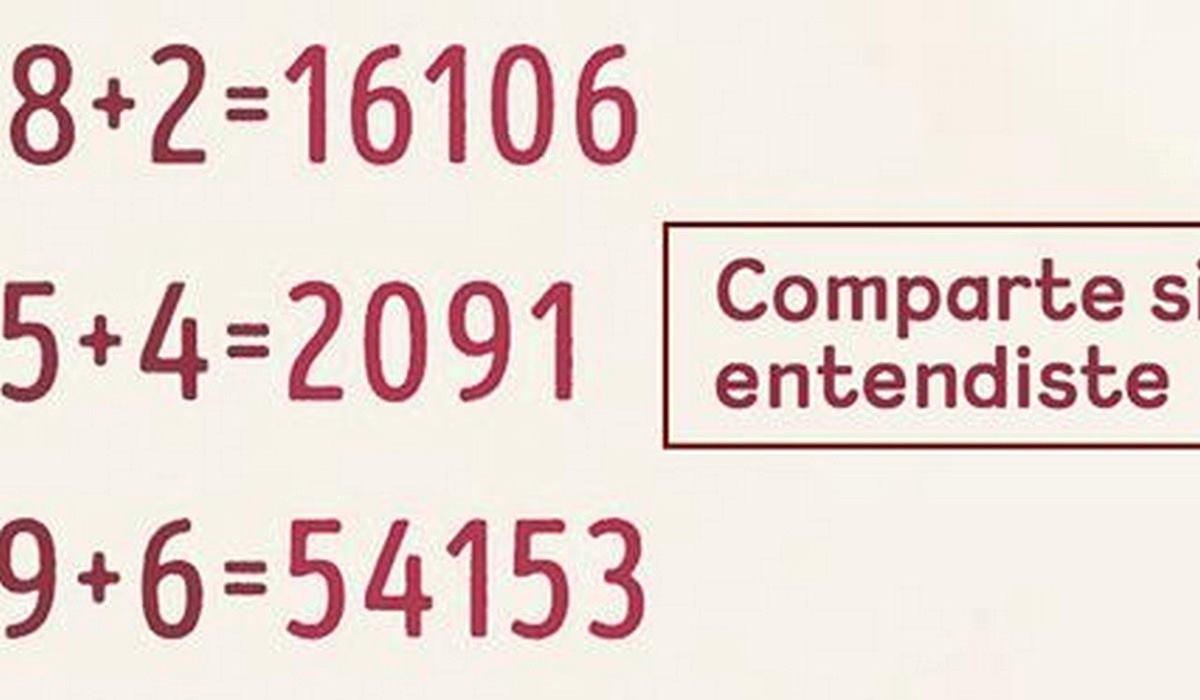 Si eres de las personas que puede resolver esta ecuación, entonces realmente eres un genio