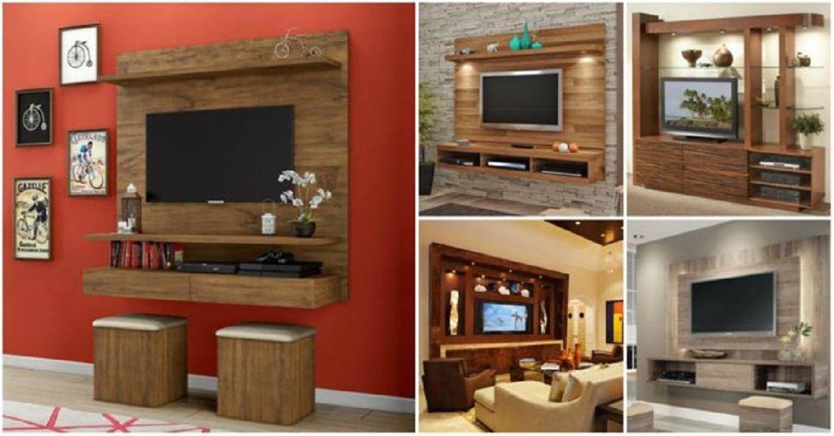 Muebles modernos para televisión: ¡8 sensacionales ideas que puedes adaptar fácilmente en tu hogar!
