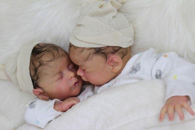Bebes reborn, recien nacidos tan reales que asustan