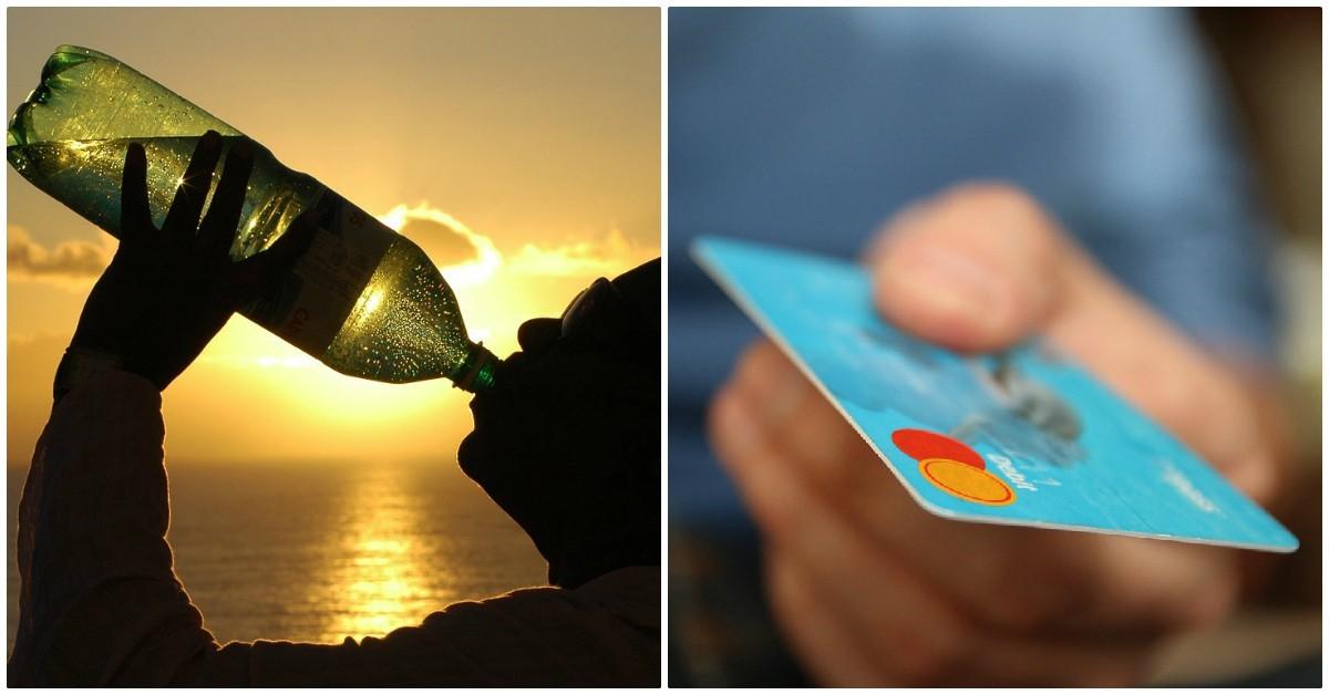 Alarmante estudio: cada semana nos estamos comiendo el plástico que equivale a una tarjeta de crédito