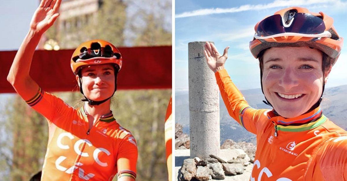 Solo un periodista fue a la rueda de prensa de Marianne Vos, la ganadora del Tour de Francia Femenino