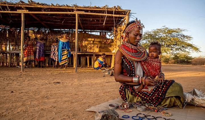 El pueblo africano donde los hombres están prohibidos