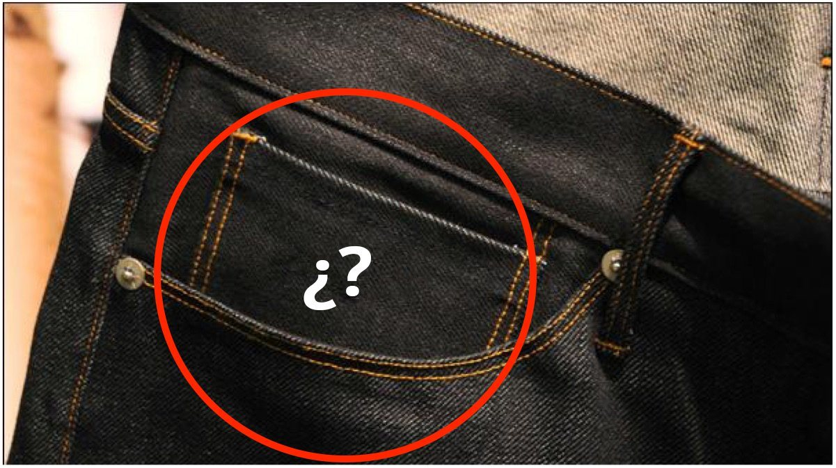 Te contamos para qué sirve el bolsillo pequeño del pantalón, tiene su función