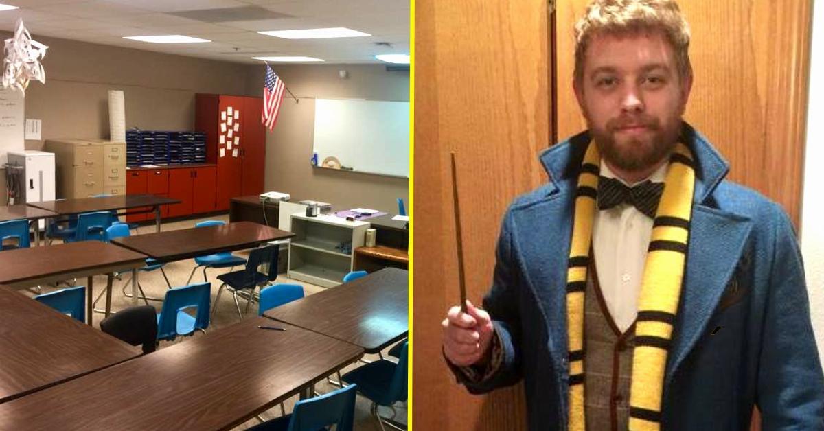 Profesor remodela escuela al estilo Harry Potter. ¡Impresionante!