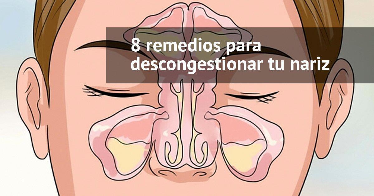 9 remedios sencillos para la congestión nasal
