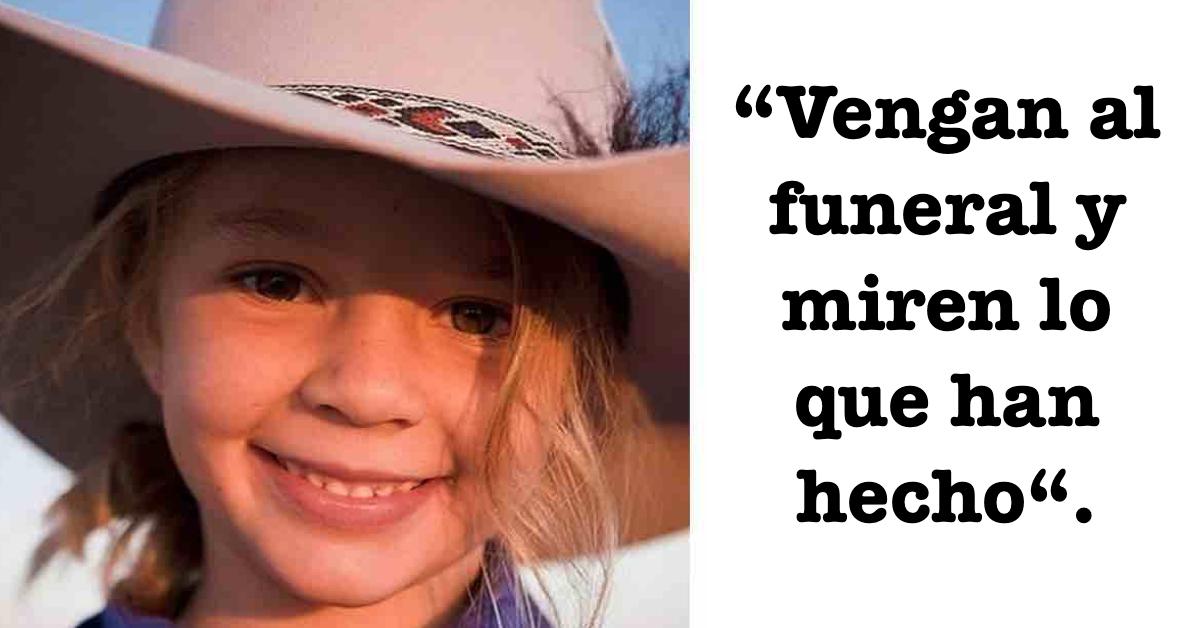 Padres invitan a los asesinos de su hija al entierro