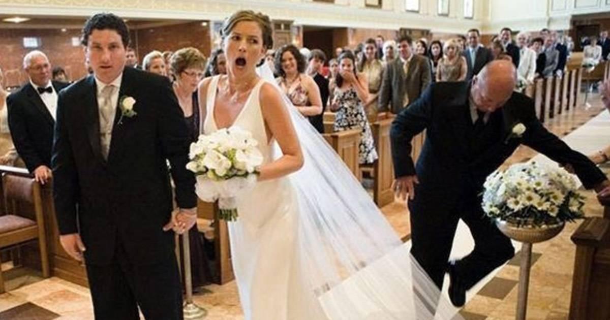 8 desastres (reales) que nadie vio venir el día de la boda