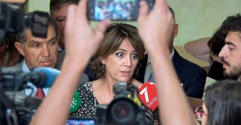 La ministra Dolores Delgado escribió al ministro italiano para mediar a favor de Juana Rivas