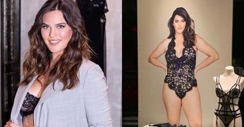 Ali Tate Cutler, la primera modelo talla grande de Victoria's Secret