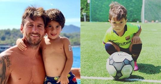 """""""Se nos está yendo de las manos"""": Messi habla de la fama de su hijo Mateo en redes sociales"""