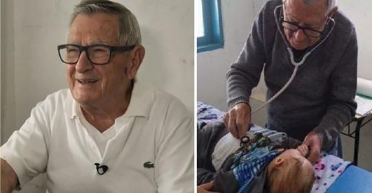 Pediatra de 92 años atiende gratis a los niños más necesitados – «Quiero morir ayudando»