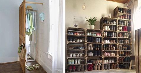 10 maneras creativas de guardar y ordenar las cosas en casa