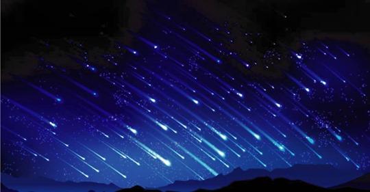 La próxima lluvia de estrellas va coincidir con las fiestas de la Virgen de Guadalupe