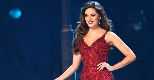 Sofía Aragón fue la joven, bella y talentosa representante de México en este certamen de Miss Universo.