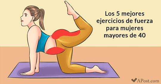 Los 5 mejores ejercicios de fuerza para las mujeres