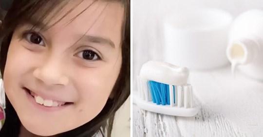 Una niña murió después de usar una pasta de dientes, y ahora su madre quiere advertir a todo el mundo