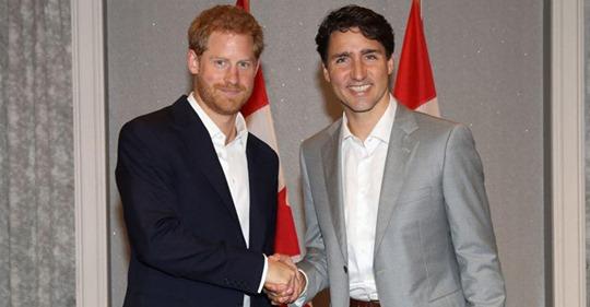 Más del 60% de los canadienses quieren que el príncipe Harry se convierta en el Gobernador General de Canadá
