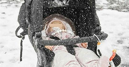 Muere bebé congelado después que sus padres lo dejaran en el frió por 5 horas