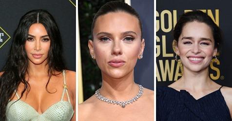 Scarlett Johansson y otras famosas con 'MakeApp', la aplicación que borra el maquillaje
