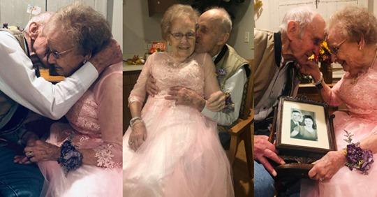 Pareja de abuelos celebró 72 años de casados demostrando que el amor verdadero sí existe