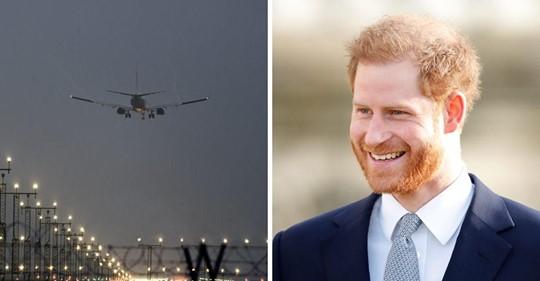 Príncipe Harry vuela hacia Canadá para empezar una nueva vida con Meghan Markle y el bebé Archie