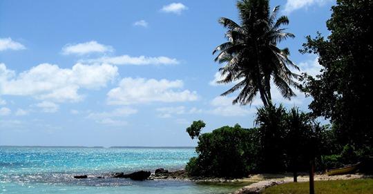 Las islas paradisíacas que fueron las primeras y últimas en recibir el año 2020