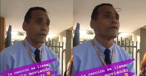 Padre conmueve en redes al promocionar la canción de su hijo en una universidad
