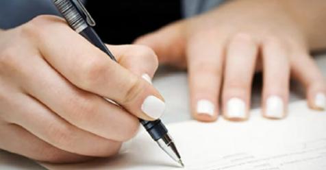 Por qué la policía advierte a la gente que no abrevie el año 2020 al firmar papeles