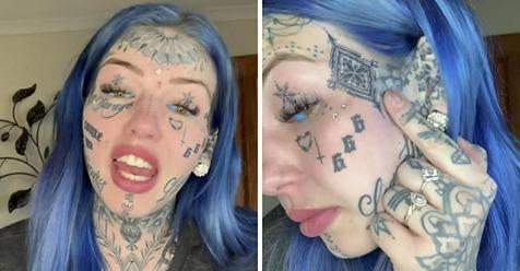Una modelo de 24 años se quedó ciega durante 3 semanas después de tatuarse los globos oculares