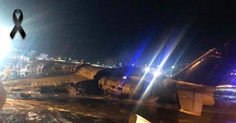 Avión que transporta suministros para el coronavirus se estrella en Filipinas.