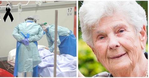 Muere mujer de 90 años con coronavirus, por cederle su respirador a los más jóvenes