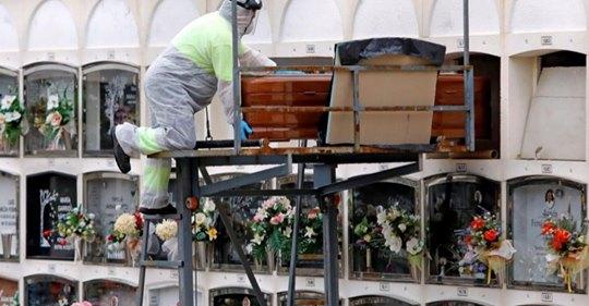 El número de pensionistas ya constata las muertes provocadas por el coronavirus