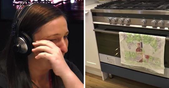 Mamá tiene 36 semanas de embarazo y su esposo la deja, luego abre su horno y se encuentra con 10.000 dólares en efectivo