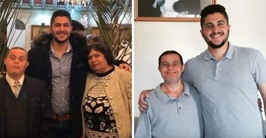 Un hijo orgulloso habla de cómo fue criado por un padre con síndrome de Down