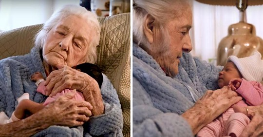 Recuperación milagrosa: Una mujer de 92 años desafía su pronóstico terminal para conocer a su primera tataranieta