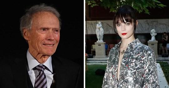La nieta de Clint Eastwood se metió a actriz, y se parece mucho a su abuelo