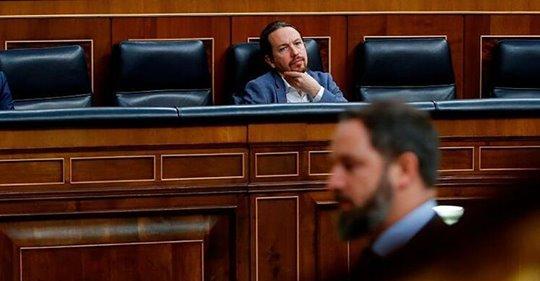 Vox denuncia ante la Fiscalía por seis delitos a Pablo Iglesias, la abogada de Podemos, Bousselham y el fiscal por las revelaciones del 'caso Dina'