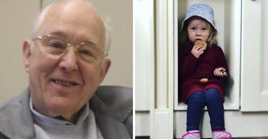 Un anciano falleció, y sus vecinos se enteraron de que dejó una bolsa llena de regalos para su hija