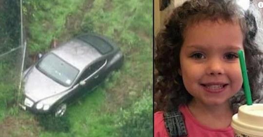 La policía encuentra a una niña de 4 años desaparecida en un coche que estaba en los bosques de Riverside