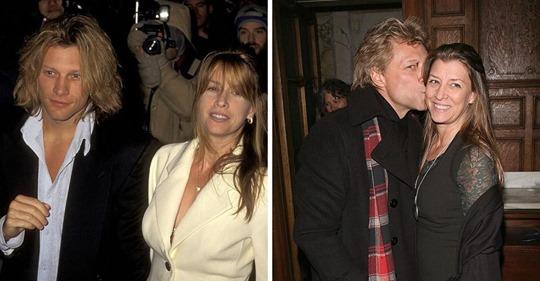 Bon Jovi dice que su romance de la escuela secundaria se transformó en una unión de 30 años porque su esposa Dorothea es quien hace que sigan unidos
