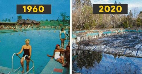 10 Lugares abandonados que fueron los sitios turísticos más famosos de los años 60