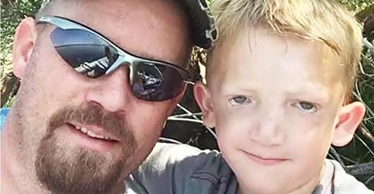 Llaman monstruo a un niño de 7 años y después su padre les da a sus acosadores una lección con una publicación en Facebook