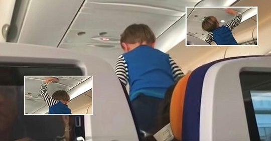 Un pasajero publica el video de la rabieta que tuvo un niño durante un vuelo de 8 horas