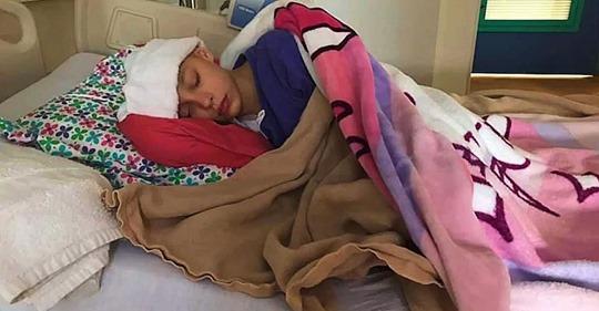 Una niña es diagnosticada con cáncer de ovario al encontrársele un tumor de 10 centímetros