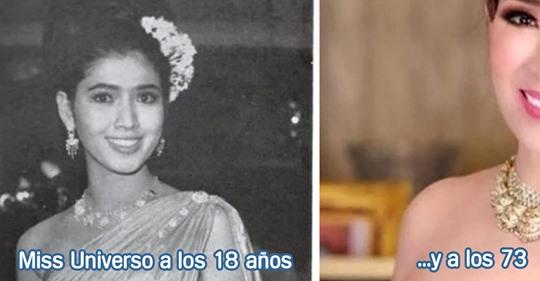 La mujer que fue Miss Universo y que a sus 73 años parece que tuviera 30