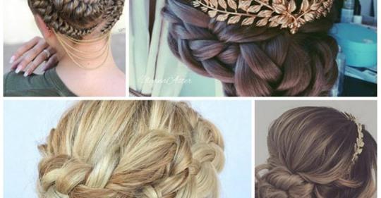 Peinados inspirados en las diosas griegas