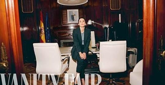 Irene Montero continúa su tour por las revistas, ahora en 'Vanity Fair': Quien se invente infidelidades no conoce nuestra vida