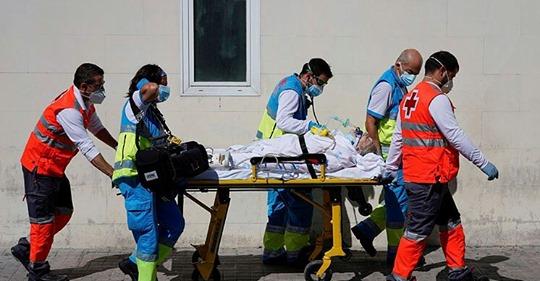 Gran preocupación  por la situación de la pandemia en España y otros 6 países europeos